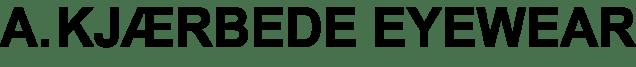 A.Kjærbede eyewear.logo.bold.black
